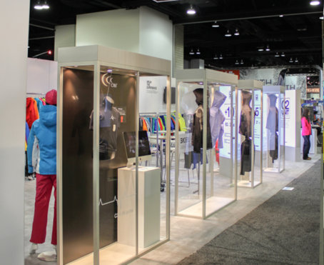 Goldwin trade show exhibit