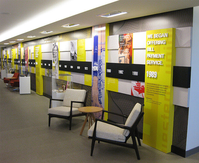 Yellow Corporate Installation